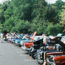 More than 45 beautiful cars participated!